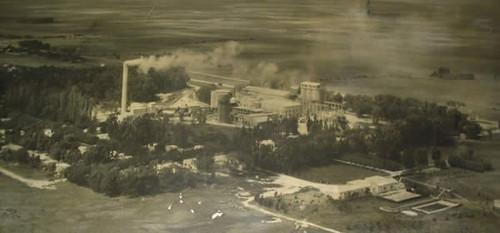pipinas vista aerea 1949 fabrica