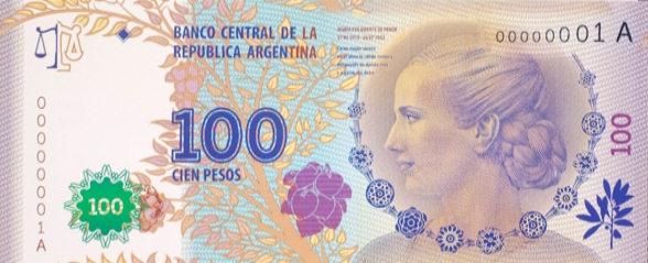 100 argentinos: