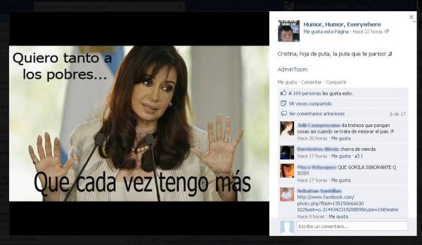 Cristina Kirchner facebook