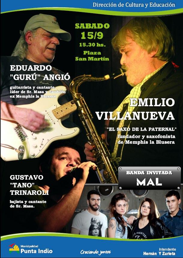 Eduardo Angio Emilio Villanueva Tano Trinaroli Banda Mal