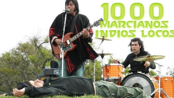 mil marcianos indios locos