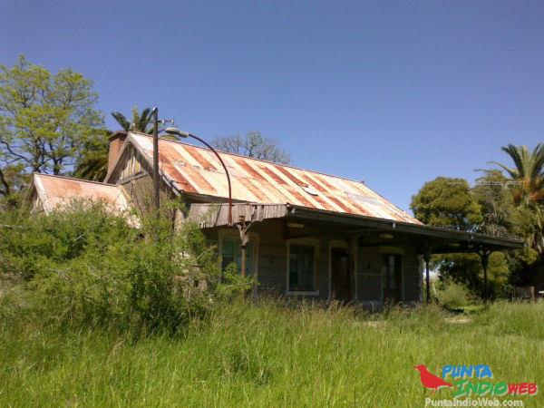 vieja estacion de pipinas Ferrocarril Del Sud