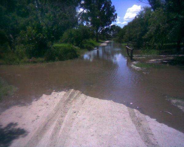 calles inundadas punta del indio