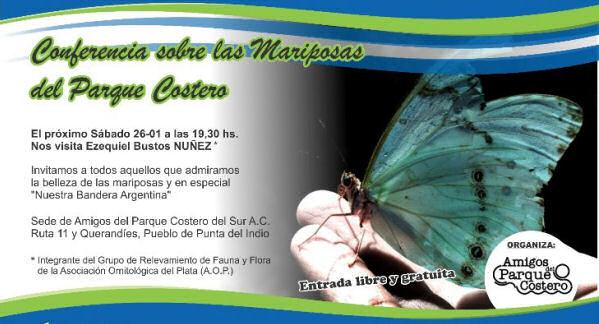 conferencia sobre mariposas