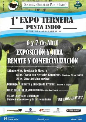 Afiche Expo Ternera