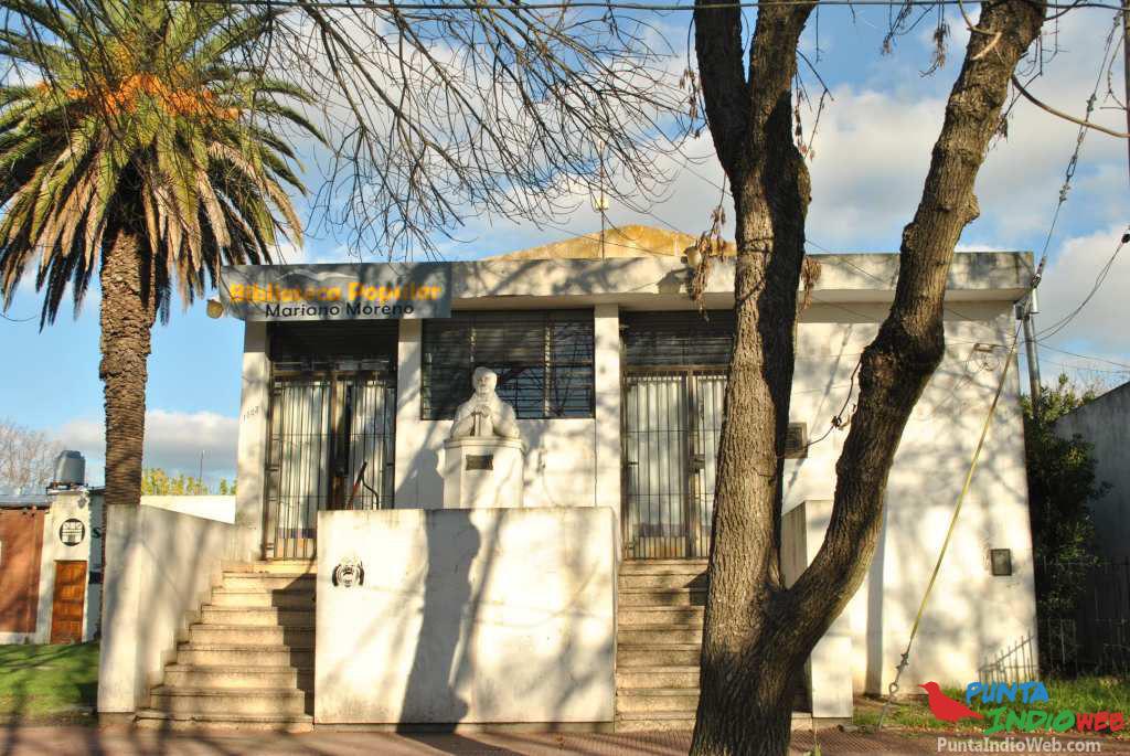 biblioteca popular Mariano Moreno