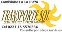 transporte sol comisiones verónica la plata