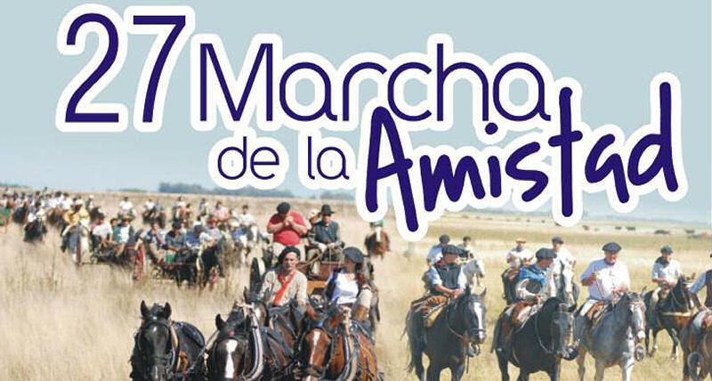 27 marcha de la amistad quincho castelli