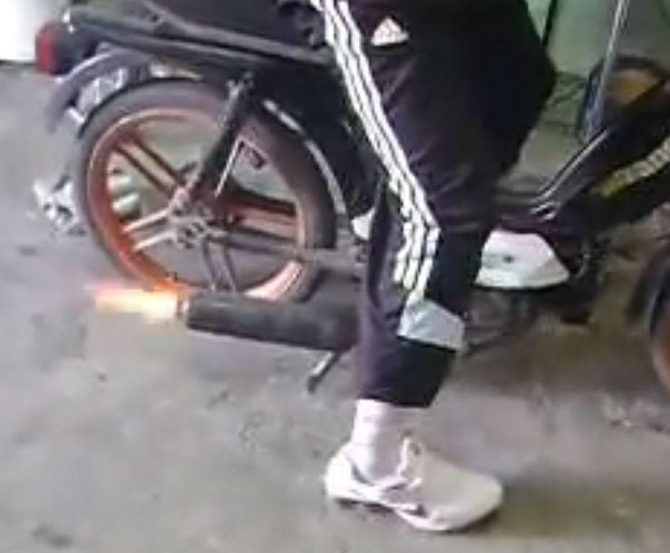corte moto