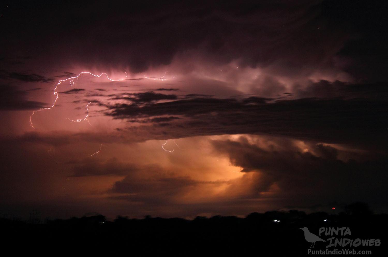 tormenta en el horizonte