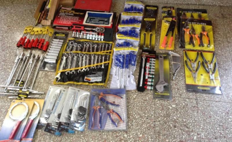 herramientas secuestradas