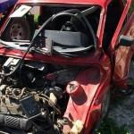 fiat 147 accidente acceso norte a veronica