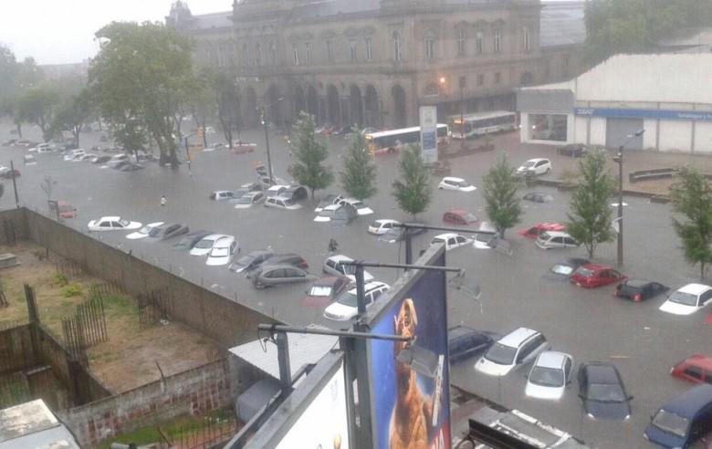 montevideo inundada
