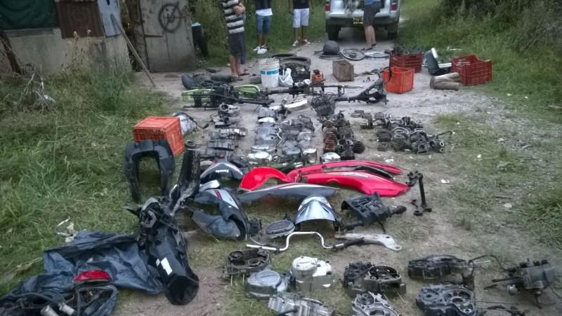 desarmadero de motos veronica 1