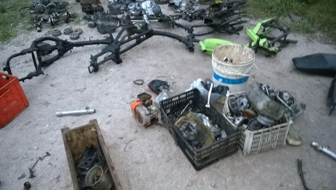 desarmadero de motos veronica 2