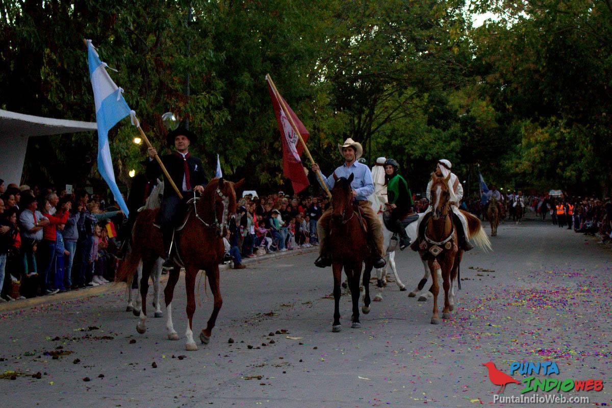 Desfile del Centenario Veronica 50